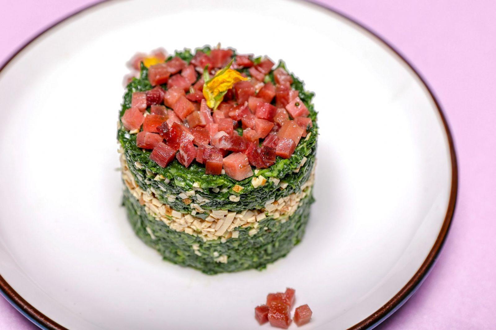 上海环球港凯悦酒店春季菜 这一抹绿!宣告春天的到来!